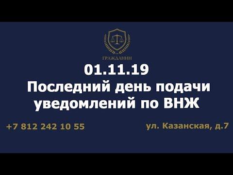 01.11.19 последний день подачи уведомления по ВНЖ