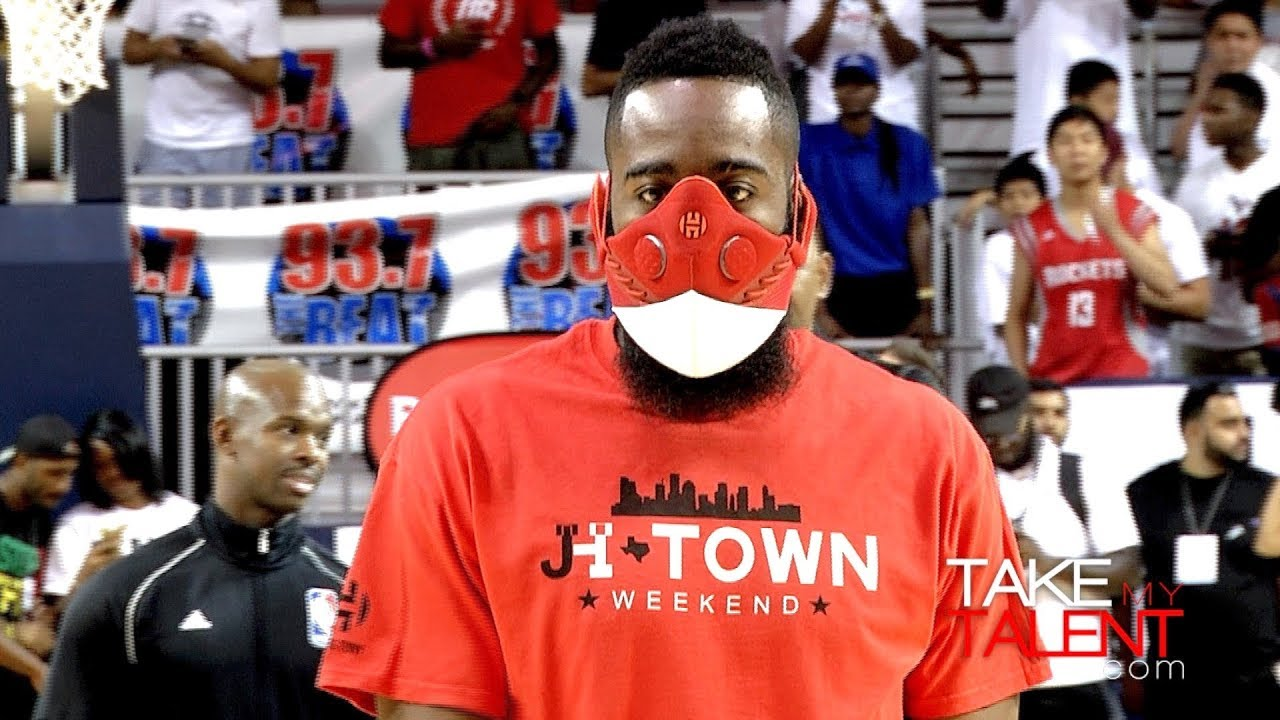 f0a315b78536 James Harden   Chris Paul - JH-Town Weekend Charity Game - YouTube