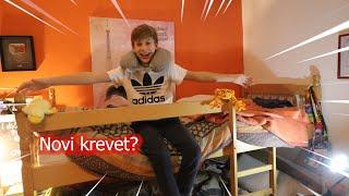 DOBIO SAM NOVI KREVET !?*room tour