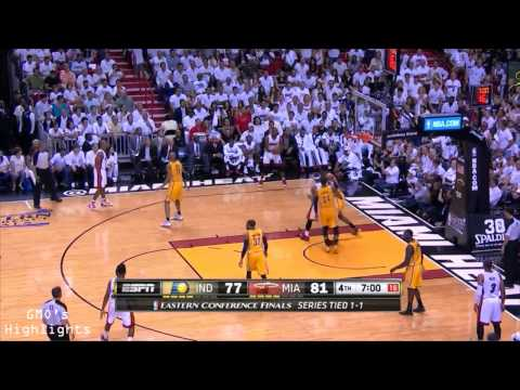 Miami Heat: Game 3 Highlights vs Pacers - Vintage Ray Allen