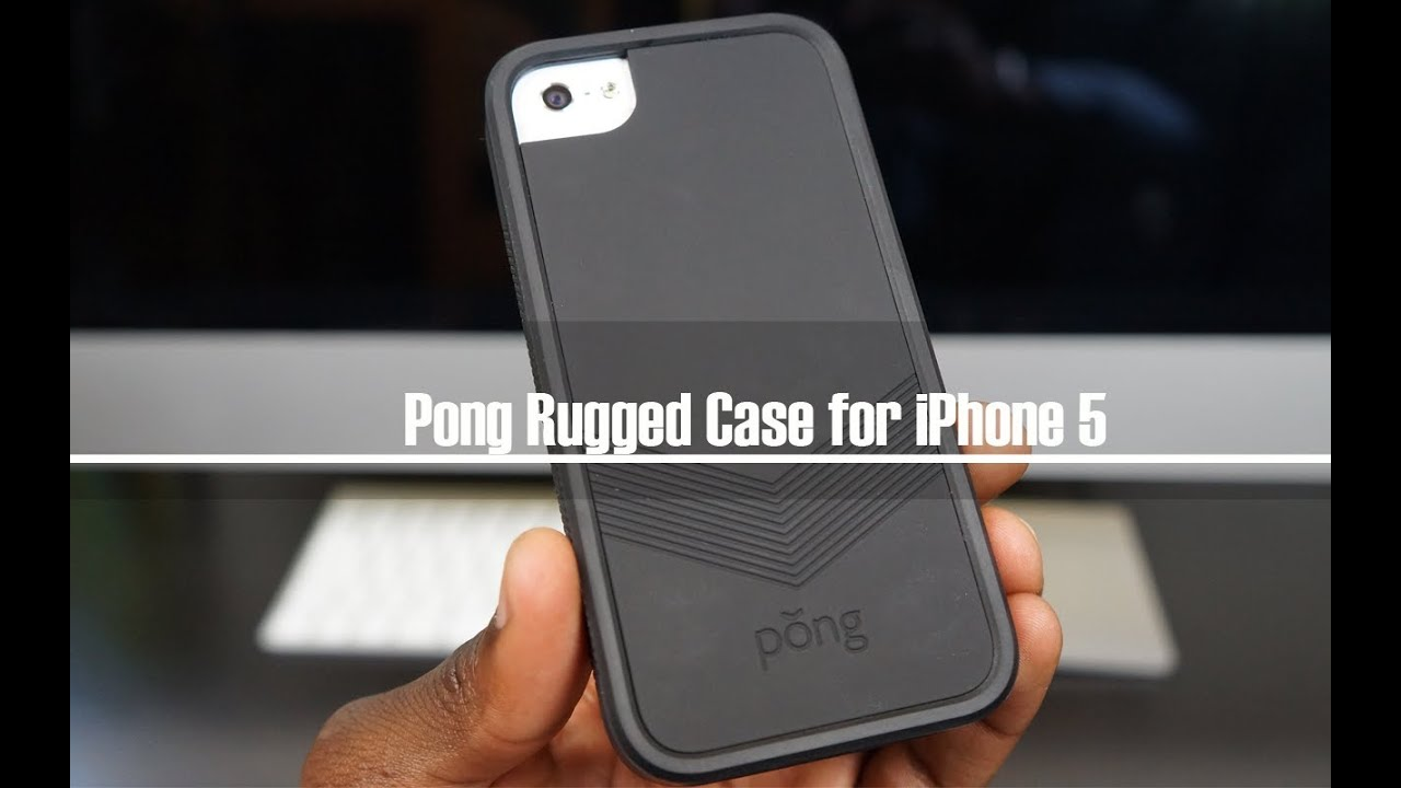 Pong Rugged Case For Iphone 5 Review