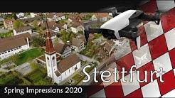 Stettfurt - Impressionen aus der Luft - April 2020