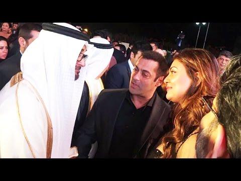 Salman Khan's ROYAL DINNER With The King Of Dubai