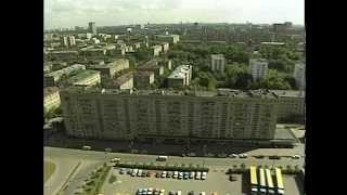 USSR; Moscow city shots..