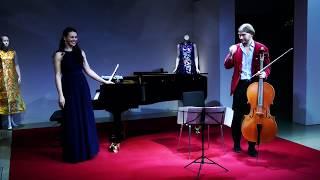 """Elesin/Knyazeva """"Polonaise Brillante"""" - Saint Saëns: Dance Macabre"""