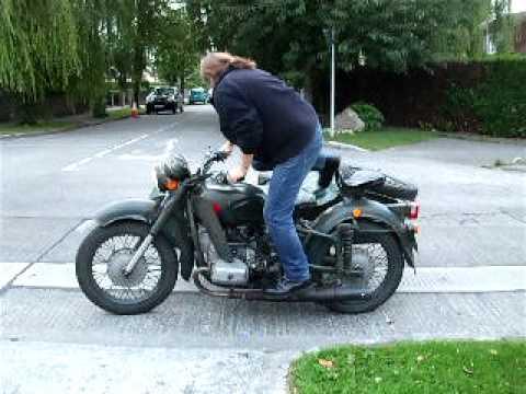 Dnepr Mt 11 Russian Military Bike Youtube