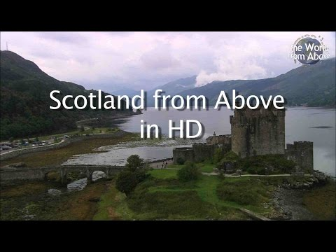 Highlights of Scotland from Above in High Definition - HD
