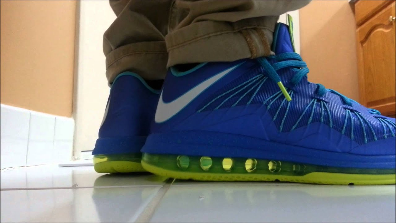 pretty nice 4fba8 119bf Lebron x Low Sprite on Feet