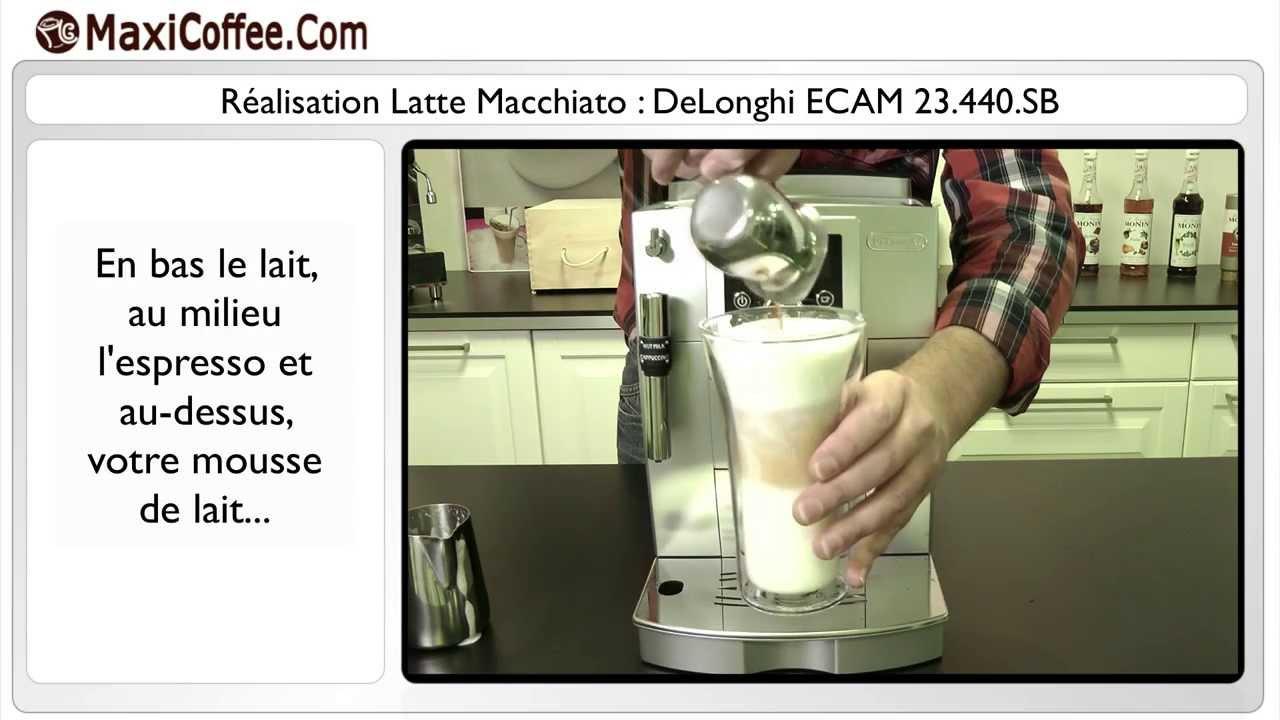 Expresso Broyeur Delonghi Ecam 23.440 Sb delonghi 23.440sb | les tutos maxicoffee