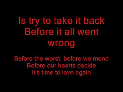 The Script-Before the worst-lyrics
