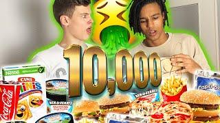 10.000 KALORIEN in 4 STUNDEN! 🤮 (AJ übergibt sich)