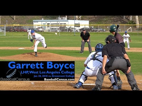 Garrett Boyce, LHP, West Los Angeles College