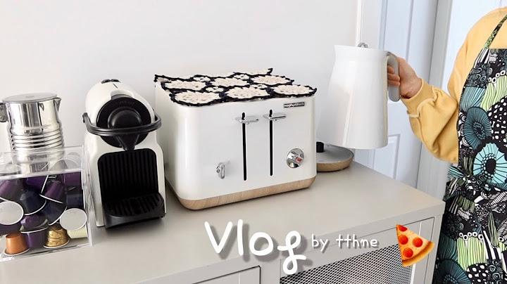 Sub)주부의 집밥 일상 브이로그-호떡믹스로 소세지빵 만들기,차돌박이우동볶음 연남동나들이
