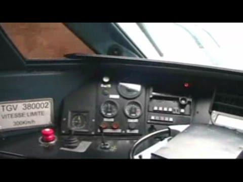 In cabina TGV R 38001 e 38002 Milano-Paris -parte 1