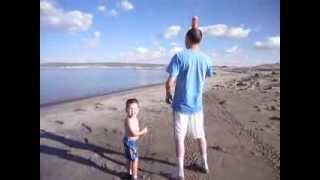 Kid learns what peeing standing up looks like!