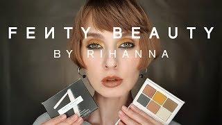 FENTY Beauty Snap Shadows 7 Cadet Два макияжа Ревью