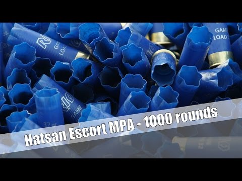 Shooting the Hatsan Escort MPA - 1000 rounds torture test
