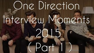 Download One Direction Interview Moments 2015 || Part 1