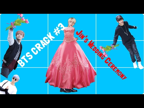 BTS CRACK #3 { Jin's Wedding Ceremony}