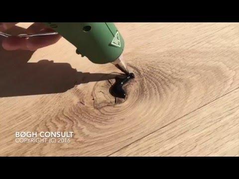 Knot Filler - How to repair grains in wood