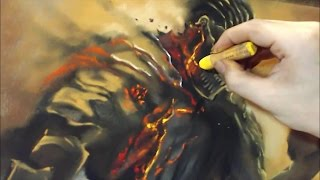 Darksouls3 : Lord of the Cinder - Speed drawing   drawholic