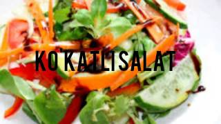 Ko`katli salat✵♔✵ Кўкатли салат