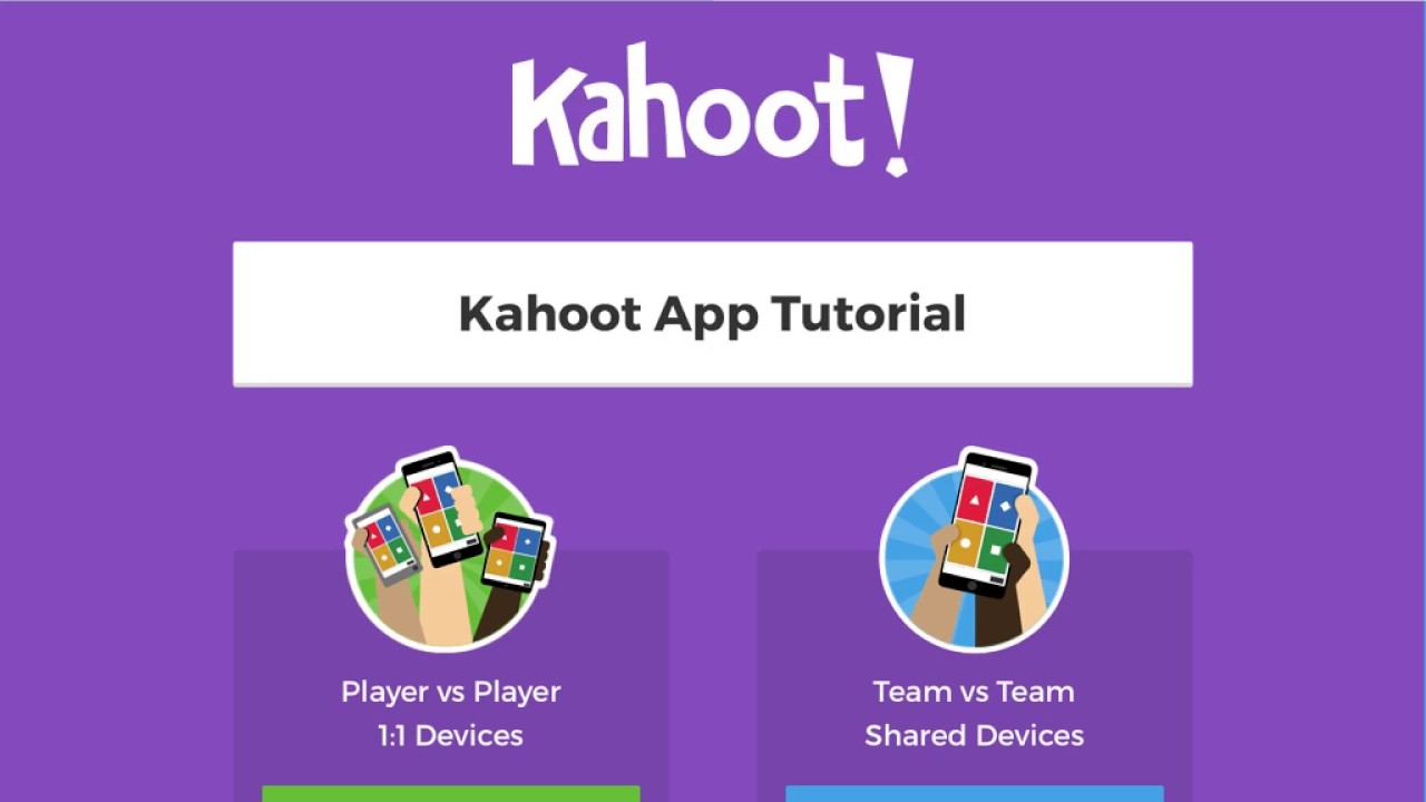 Kahoot! App Tutorial - YouTube