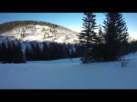 GoPro - First Time Snowboarding Ever - Ski Apache New Mexico