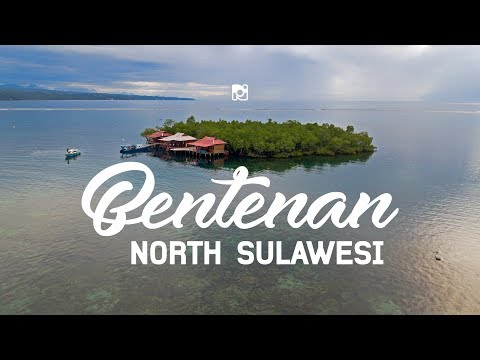Bentenan island, the hidden paradise in South East Minahasa, North Sulawesi