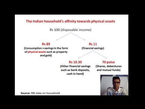 Realigning the household sector's savings towards financial assets (HD)