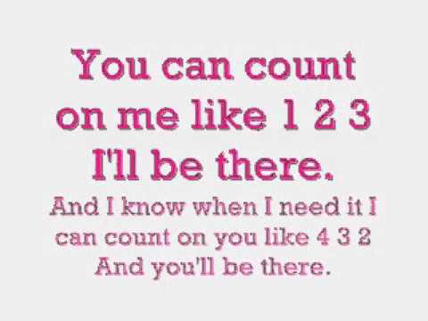 Bruno Mars' Count On Me - Mit Lyrics ♥