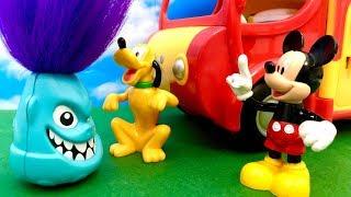 Myszka Miki i Potworek ☺ Wyprawa na biwak ☺ Bajka dla dzieci PO POLSKU