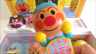 toy ice cream parlor anpanman アンパンマン learn colors for babies toddlers