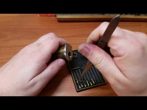 Взлом отмычками Sargent   (296) Awesome Sargent Challenge Lock from Bobby Keyz (Bobby, man you