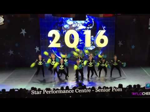 Star Performance Centre - Senior Small Pom [Dance Worlds 2016]