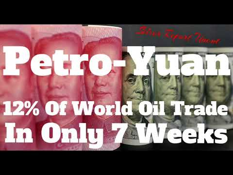 The Petro Yuan Has Captured 12% Of the Worlds Oil Trade! Dol