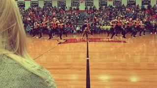 Sheboygan North Dance team 2018