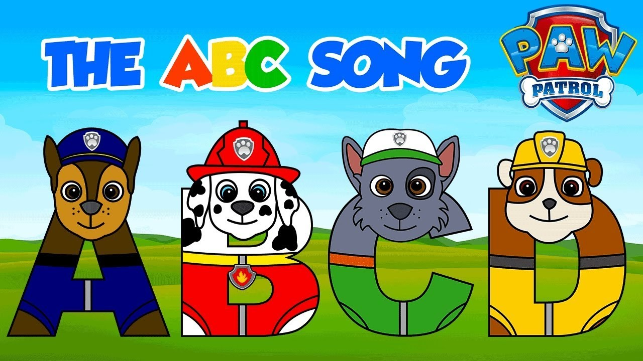 Paw Patrol ABC Song! Learning Alphabet for Children ...