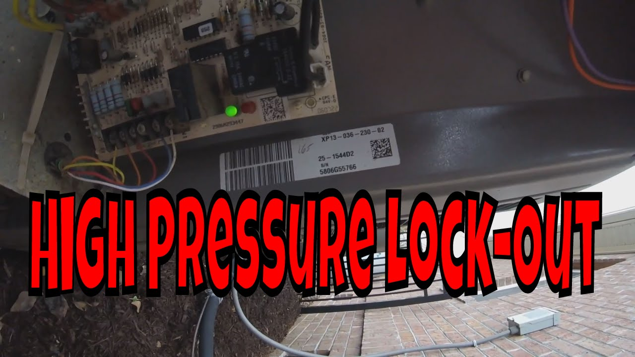 Why Did The High Pressure Switch Kick Out | How To Reset A Defrost Board  YouTube