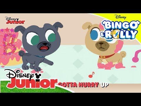 Canta em Inglês – Bingo e Rolly: Pat-A-Cake | Disney Junior Oficial