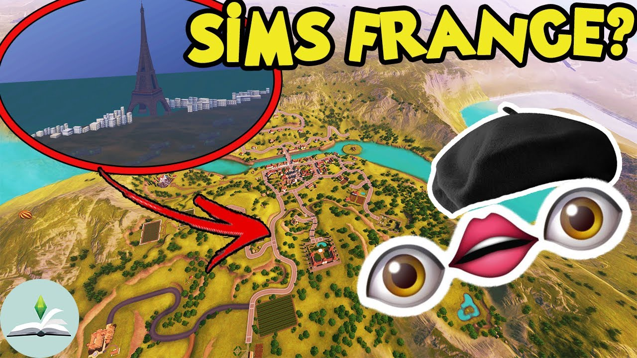 The most relaxing trip your sim will EVER take | Champs Les Sims | The Sims Lore