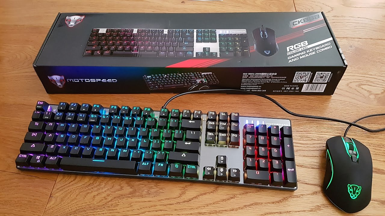 Motospeed CK888 Gaming Keyboard [Hands on Review and Test]
