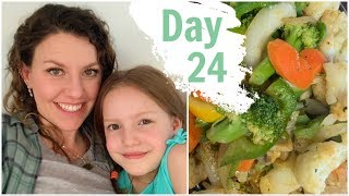 DAY 24 Mostly Raw Vegan Food Challenge / PREGNANT