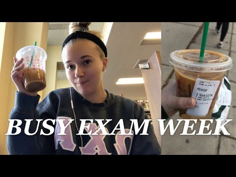 Busy Exam Week In My Life | College Junior