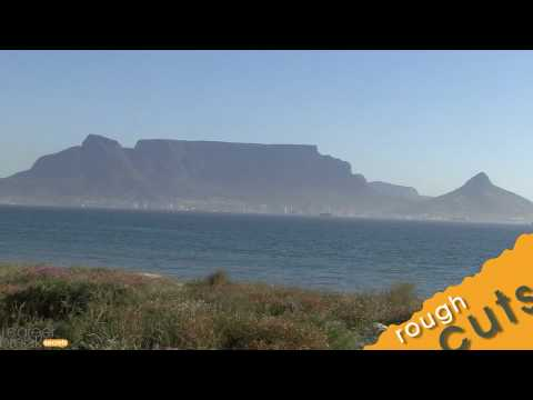 Admiring Table Mountain from Blouberg Beach