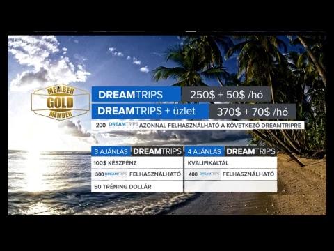 Élj abból, hogy élsz! Ismerd Meg a Dreamtrips koncepciót!