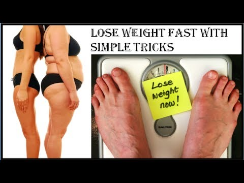 How to Lose Weight without Exercise and Diet – Lose 5Kgs with Simple Tricks – Weight Loss with Water