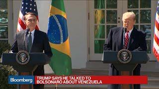Trump Says He Intends to Make Brazil a Non-NATO, Maybe NATO, Ally