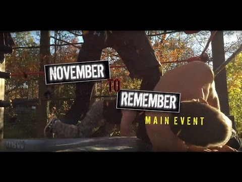 DOMINATING BACKYARD WRESTLING November to Remember: Main Event