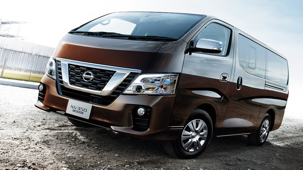 Nissan NV350 Urvan gets refreshed for 2018 - YouTube